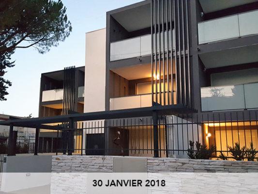 Livraison de notre opération So Pur, à Montpellier