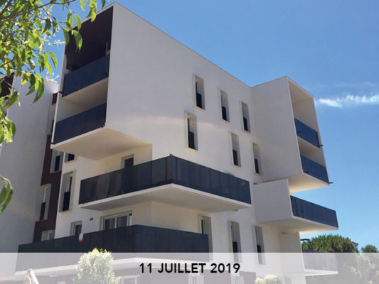 11.07.2019 : Suivi de chantier « Green View »